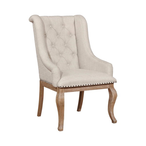 2 Coaster Furniture Glen Cove Brown Arm Chairs CST-107733