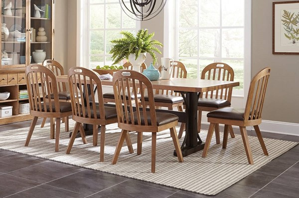 Coaster Furniture Bishop 9pc Dining Room Set