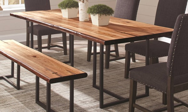 Coaster Furniture Suthers Live Edge Dining Table CST-107771