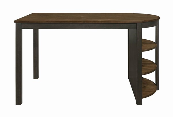 Coaster Furniture Clarksville Burnt Amber Counter Height Table CST-107828