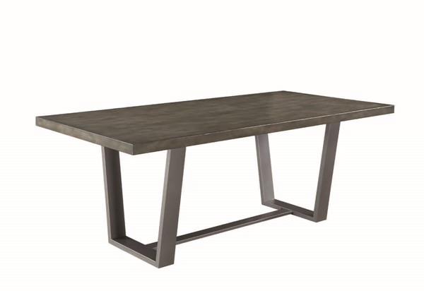 Coaster Furniture Hutchinson Aged Dining Table CST-107851