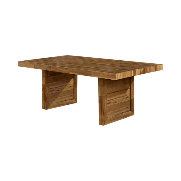 Coaster Furniture Tucson Natural Solid Wood Dining Table CST-108171