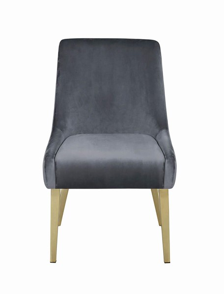 2 Coaster Furniture Arcade Grey Dining Chairs CST-109212
