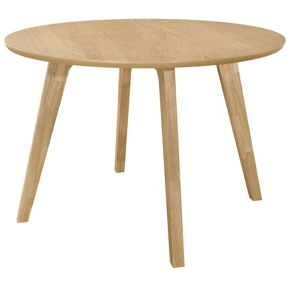 Coaster Furniture Merced Danish Natural Round Dining Table CST-109441