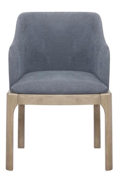 2 Coaster Furniture Artas Denim Blue Arm Chairs CST-109597
