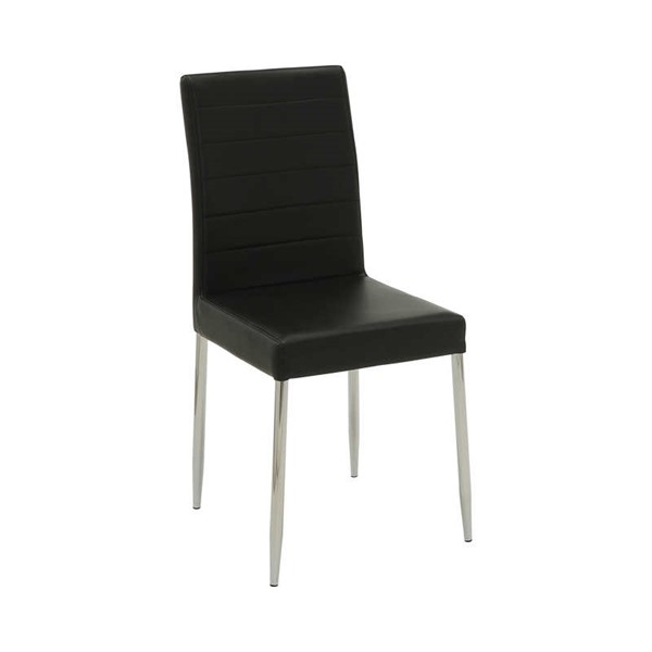 4 Coaster Furniture Vance Black Dining Chairs CST-120767BLK