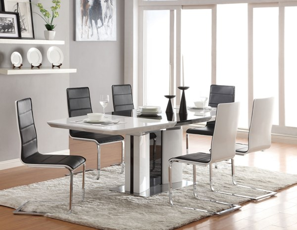 Broderick Contemporary  White Dining Set CST-120941DS