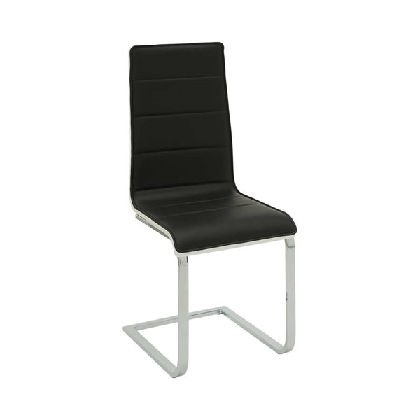 4 Coaster Furniture Broderick Black White Side Chairs CST-120948