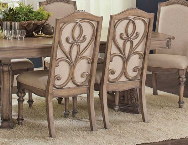 2 Coaster Furniture Ilana Linen Side Chairs CST-122212