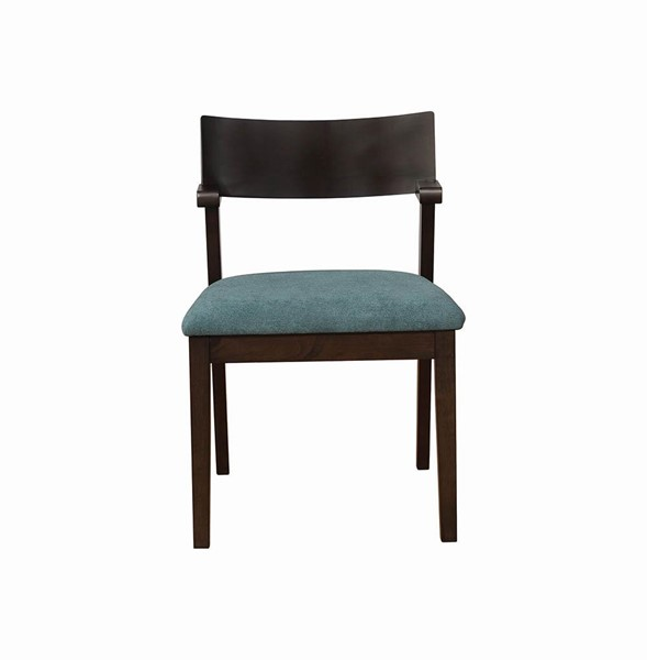 2 Coaster Furniture Jarmen Green Side Chairs CST-122523