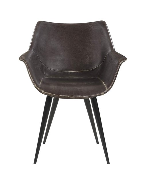 2 Coaster Furniture Bartole Brown Grey Side Chairs CST-130512