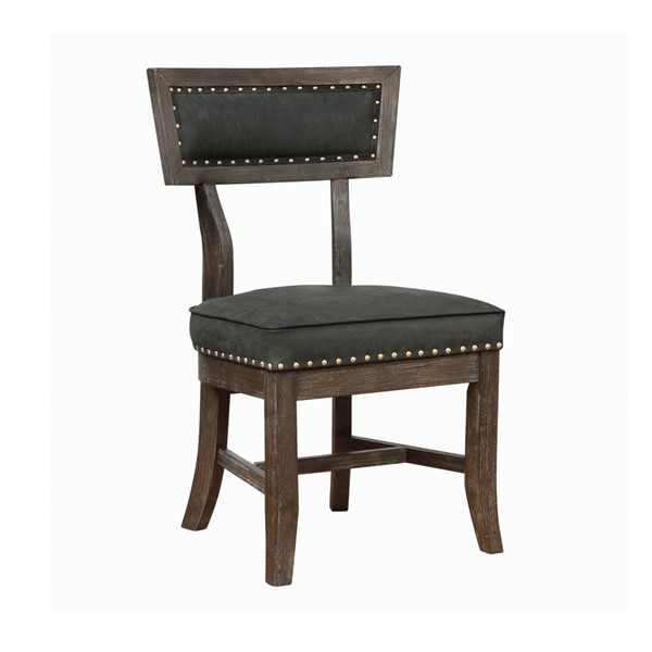 2 Coaster Furniture Mayberry Black Side Chairs CST-132262