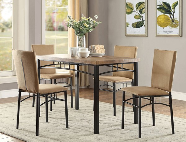 Coaster Furniture Camel 5pc Dining Set CST-150027