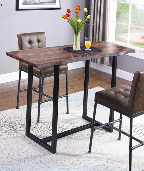 Coaster Furniture Stoneview Grey Bar Table CST-182181