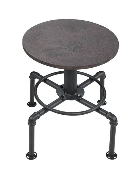 Coaster Furniture Creswell Rustic Brown 18 Inch Stool CST-182600
