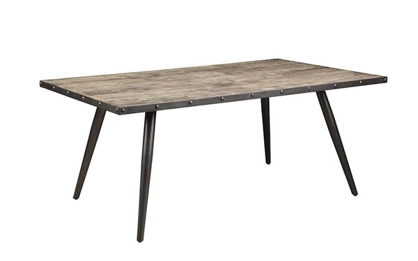 Coaster Furniture Levitt Weathered Dining Table CST-190441