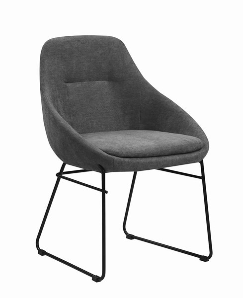 Coaster Furniture Dash Grey Fabric Dining Chair CST-190722
