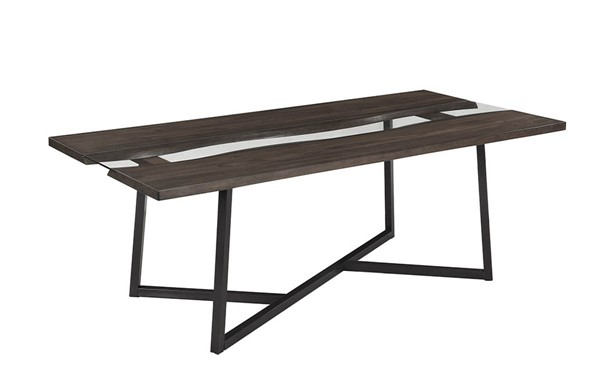 Coaster Furniture Oakville Chocolate Dining Table CST-190751
