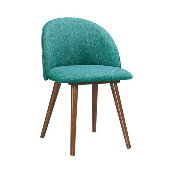 2 Coaster Furniture Teal Fabric Side Chairs CST-190883