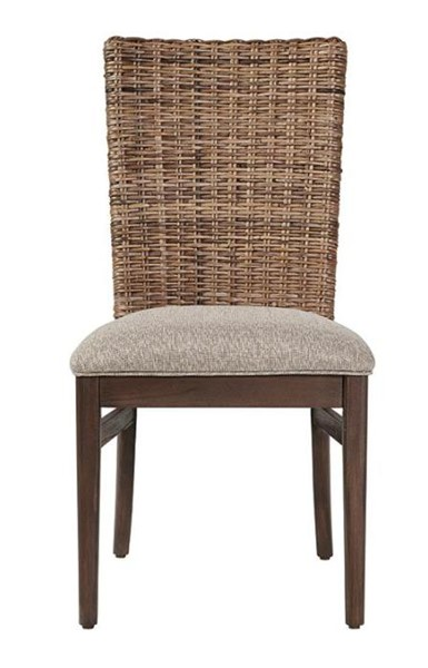 Coaster Furniture Magnolia Light Taupe Fabric Dining Chairs CST-192572