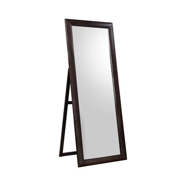 Coaster Furniture Phoenix Cappuccino Standing Mirror CST-200417