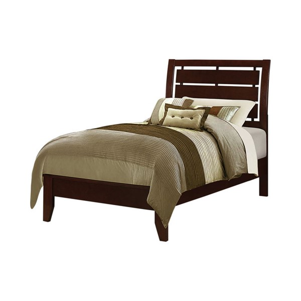 Coaster Furniture Serenity Rich Merlot Twin Bed CST-201971T