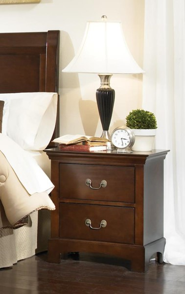 Tatiana Warm Brown Wood Night Stand CST-202392