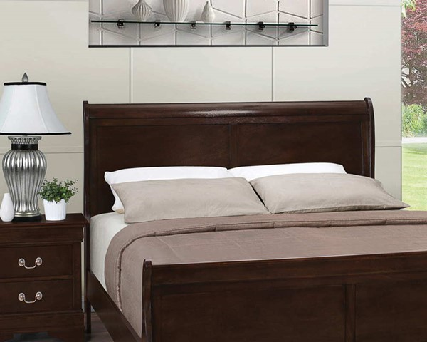 Coaster Furniture Louis Philippe Cappuccino Queen Headboard CST-202411QH