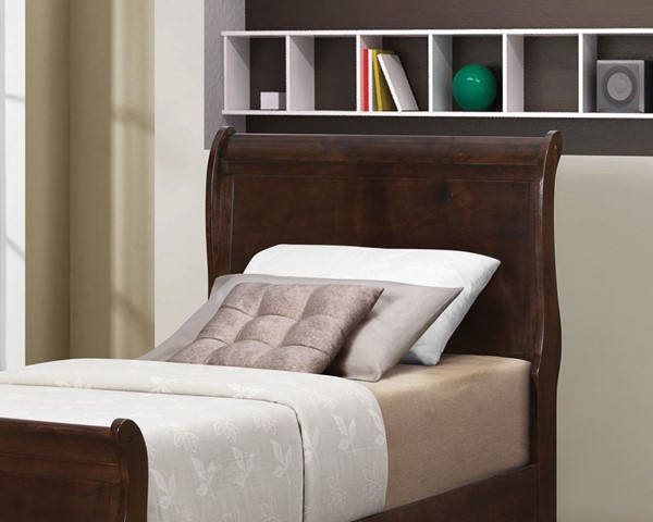 Coaster Furniture Louis Philippe Cappuccino Twin Headboard CST-202411TH