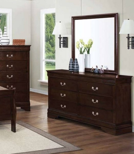 Louis Philippe Classic Cappuccino Chest CST-202415