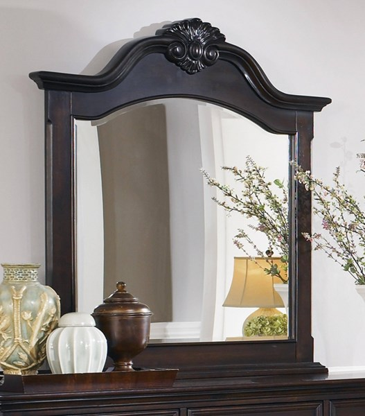 Cambridge Traditional Cappuccino Wood Mirror CST-203194
