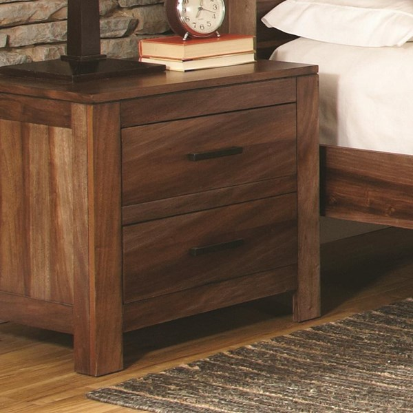 Peyton Traditional Brown Wood Night Stand CST-203652