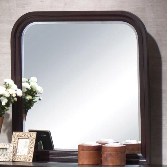 Louis Philippe Traditional Cappuccino Mirror CST-203984N
