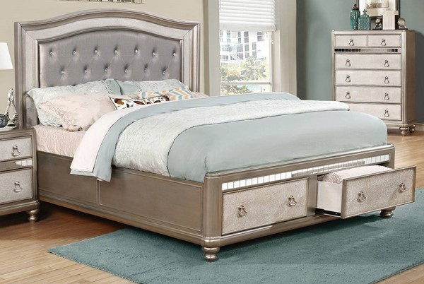 Coaster Furniture Bling Game Queen Bed CST-204180Q
