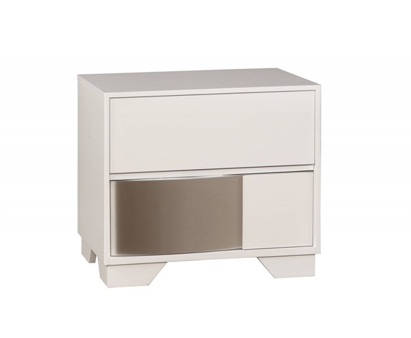 Havering Contemporary Wood Full Extension Glide Drawer Nightstand CST-204742