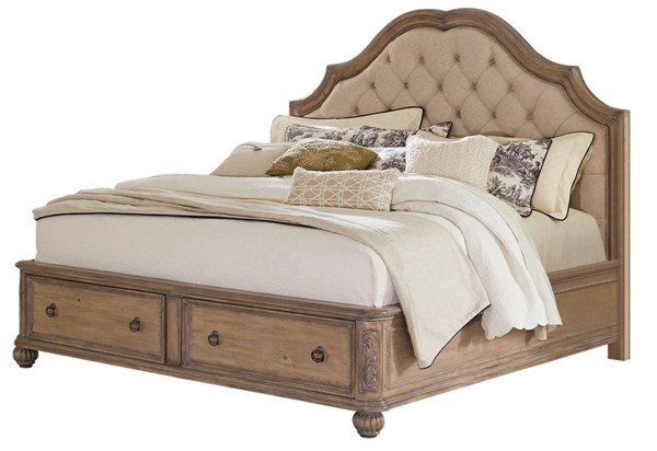 Coaster Furniture Ilana Linen Cal King Bed CST-205070KW
