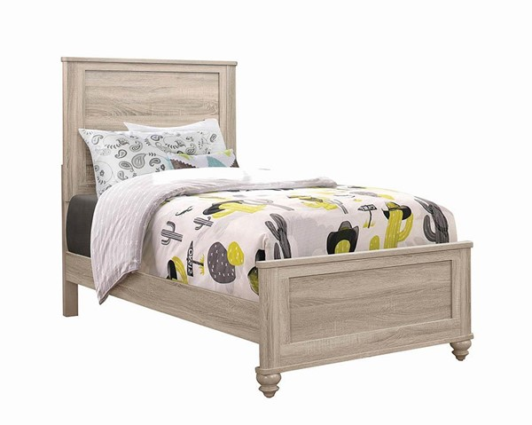 Coaster Furniture Wenham Natural Oak Twin Bed CST-205461T