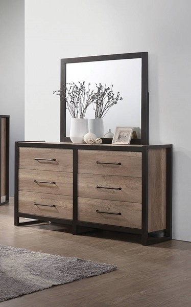 Coaster Furniture Edgewater Dresser and Mirror CST-206273-4-DRMR