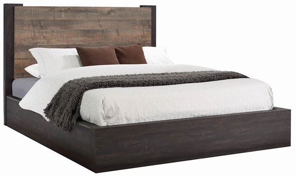 Coaster Furniture Weston Weathered Oak Platform Beds CST-206311-BEDS-VAR