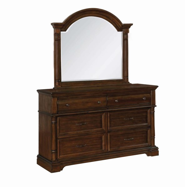 Coaster Furniture Chandler Brown Dresser and Mirror CST-20639-DRMR-S1