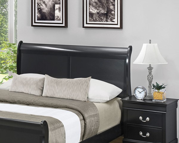 Coaster Furniture Louis Philippe Black King Headboard CST-212411KEH