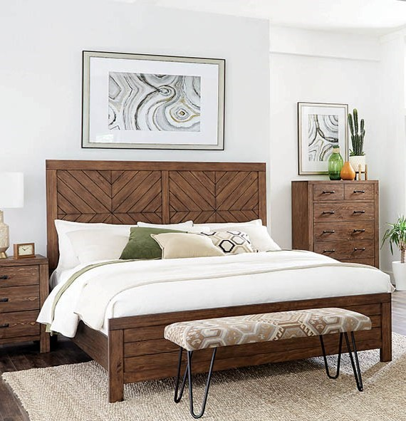 Coaster Furniture Reeves Brown Panel Beds CST-215731-BEDS-VAR