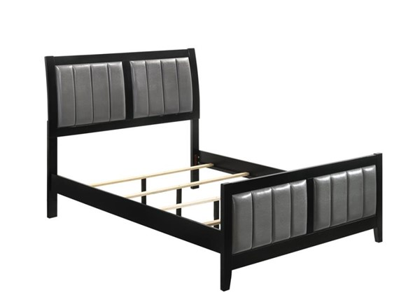 Coaster Furniture Oxford Black Grey Queen Bed CST-215861Q