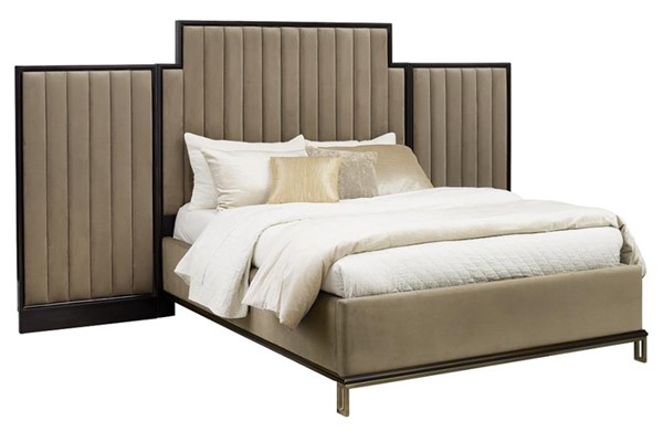 Coaster Furniture Formosa Ston Wall Panel Bed CST-222820-K-BED-VAR2