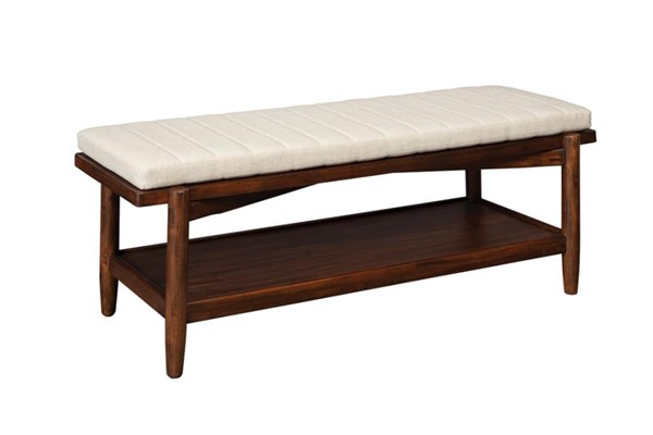 Coaster Furniture San Mateo Linen Like Bench CST-222986