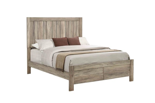 Coaster Furniture Adelaide Rustic Oak Queen Bed CST-223101Q