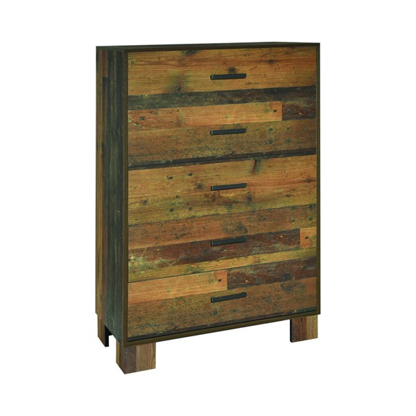 Coaster Furniture Sidney Rustic Pine Chest CST-223145