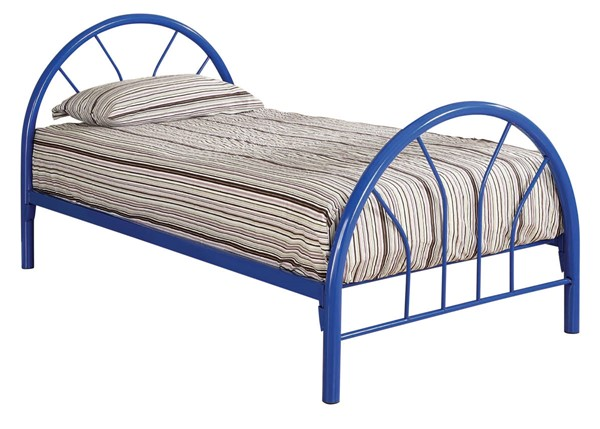 Coaster Furniture Marjorie Blue Metal Twin Bed CST-2389N