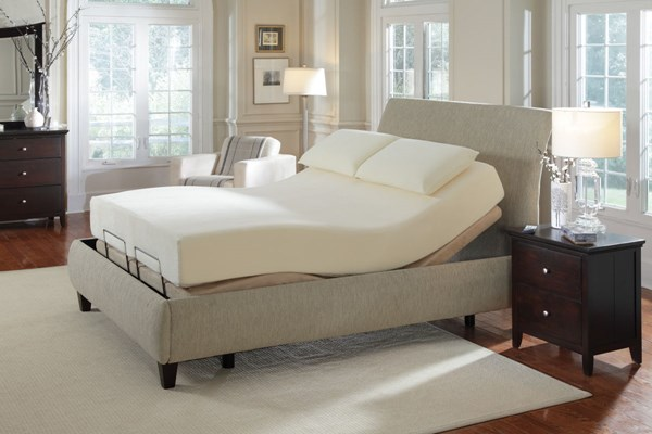 Premier Bedding Pinnacle Camel King Adjustable Massage Bed CST-300130KEM