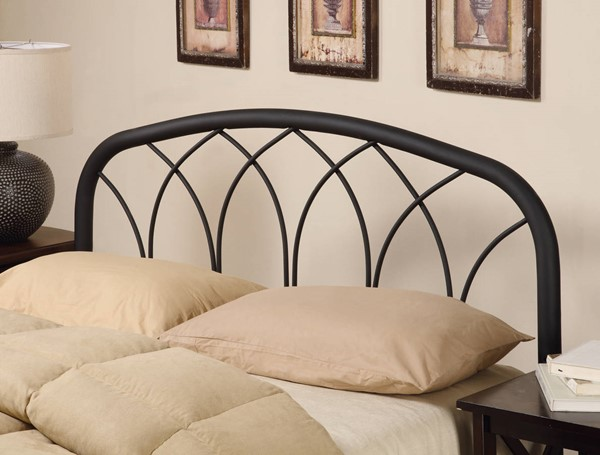 Coaster Furniture Black Metal Queen Full Headboard Only CST-300184QF